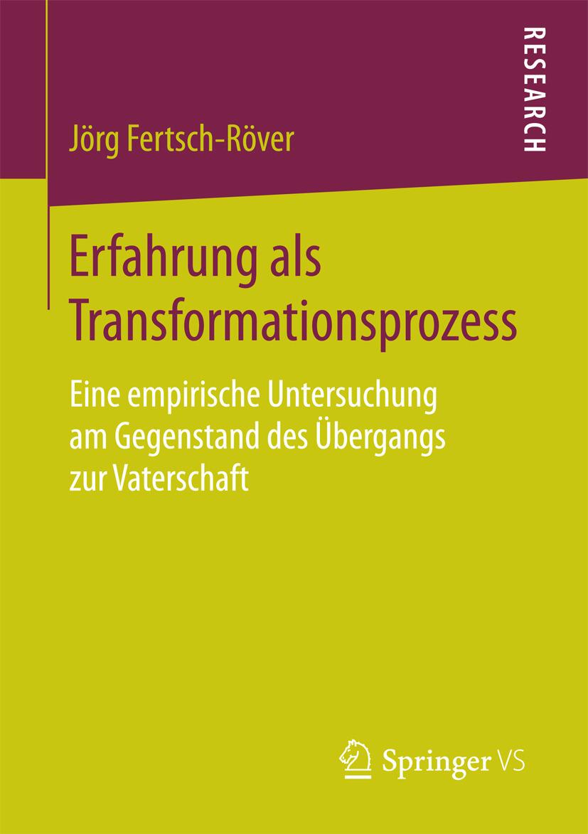 Fertsch-Röver, Jörg - Erfahrung als Transformationsprozess, ebook