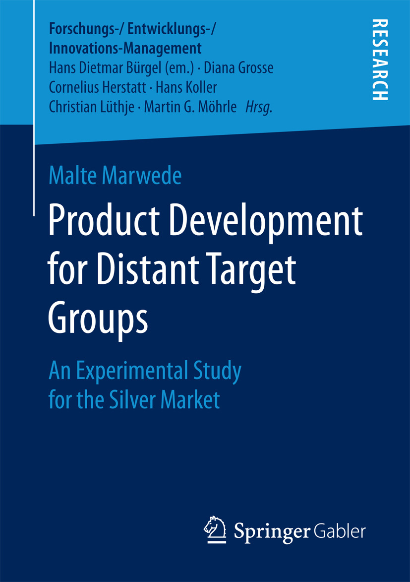 Marwede, Malte - Product Development for Distant Target Groups, ebook