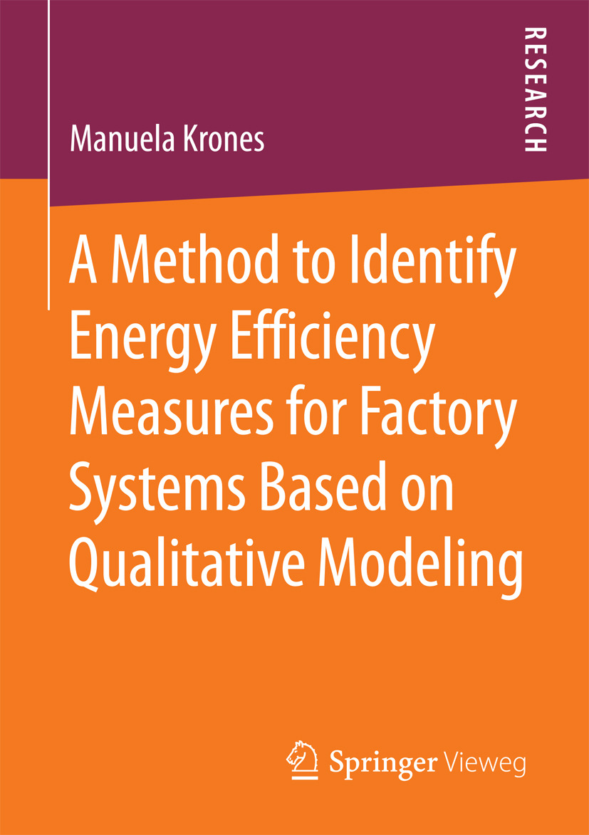 Krones, Manuela - A Method to Identify Energy Efficiency Measures for Factory Systems Based on Qualitative Modeling, ebook