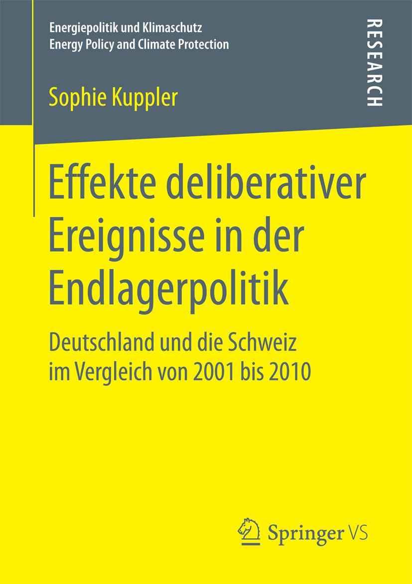 Kuppler, Sophie - Effekte deliberativer Ereignisse in der Endlagerpolitik, ebook