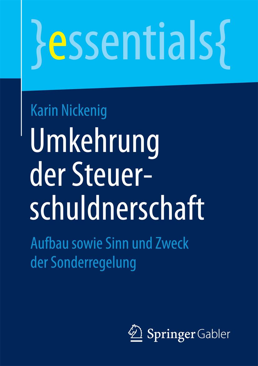 Nickenig, Karin - Umkehrung der Steuerschuldnerschaft, ebook