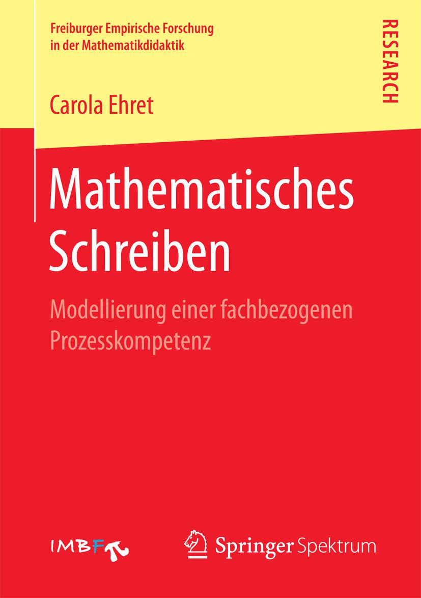 Ehret, Carola - Mathematisches Schreiben, ebook