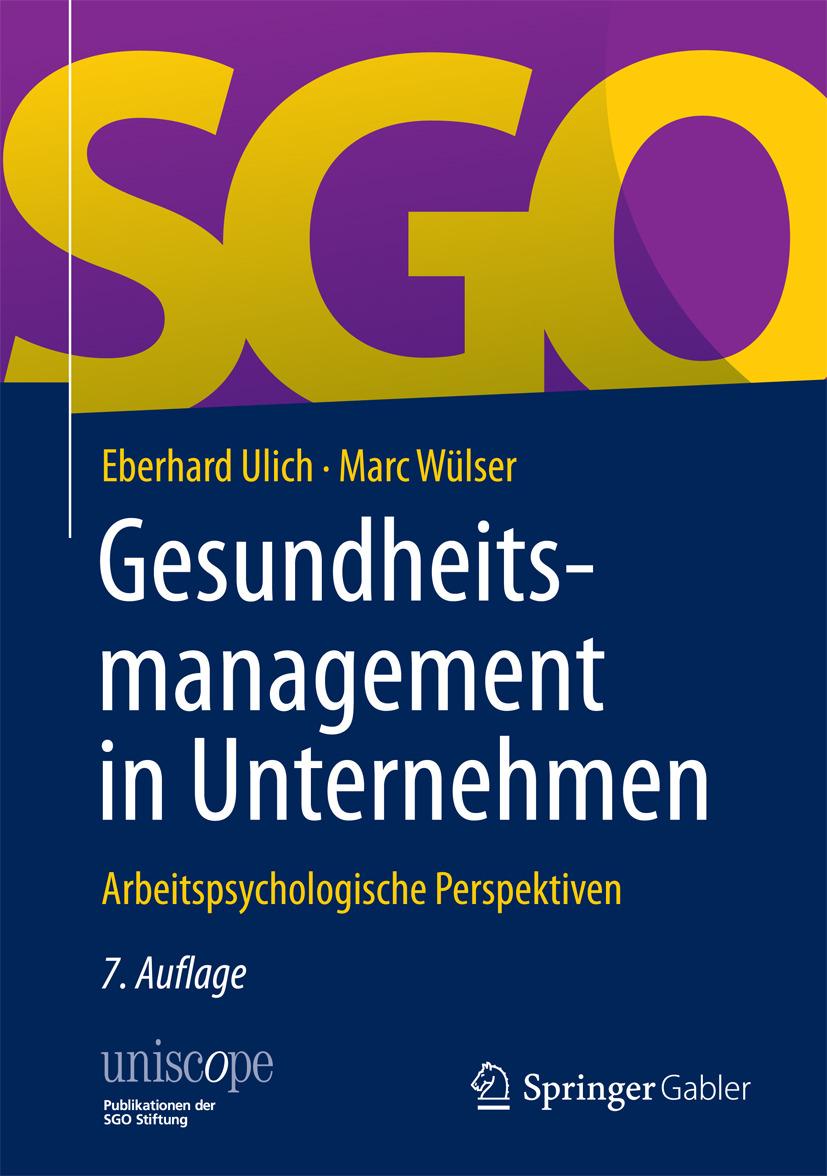 Ulich, Eberhard - Gesundheitsmanagement in Unternehmen, ebook