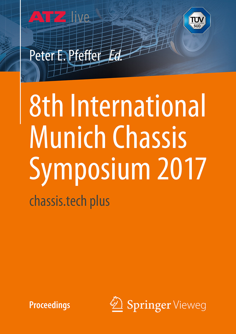 Pfeffer, Prof. Dr. Peter E. - 8th International Munich Chassis Symposium 2017, ebook