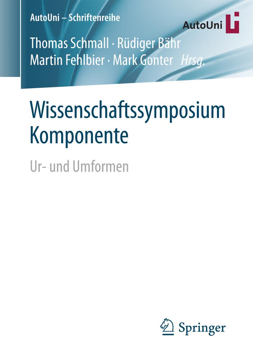 Bähr, Rüdiger - Wissenschaftssymposium Komponente, ebook