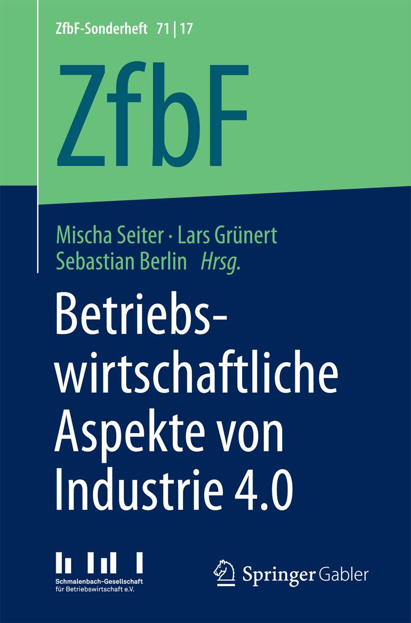 Berlin, Sebastian - Betriebswirtschaftliche Aspekte von Industrie 4.0, ebook