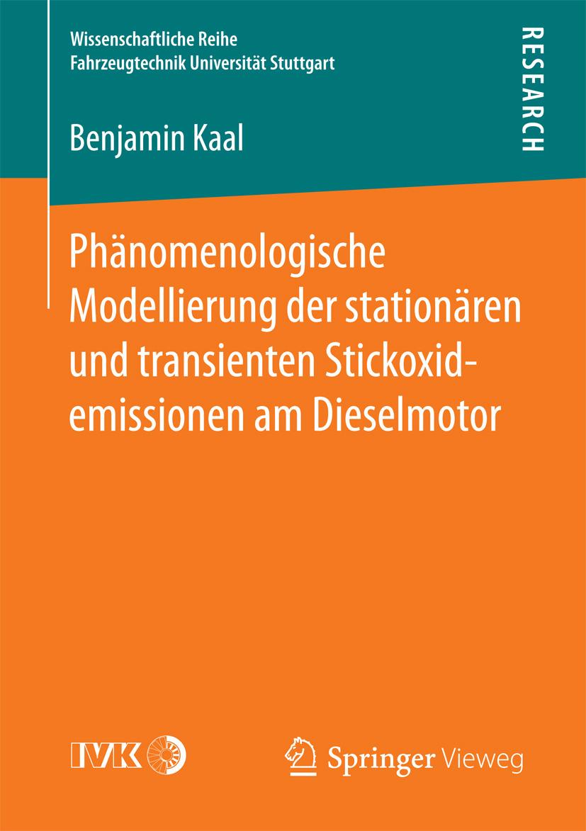 Kaal, Benjamin - Phänomenologische Modellierung der stationären und transienten Stickoxidemissionen am Dieselmotor, ebook