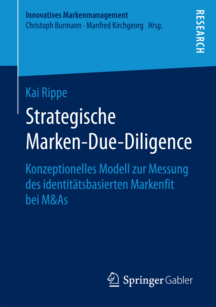 Rippe, Kai - Strategische Marken-Due-Diligence, ebook