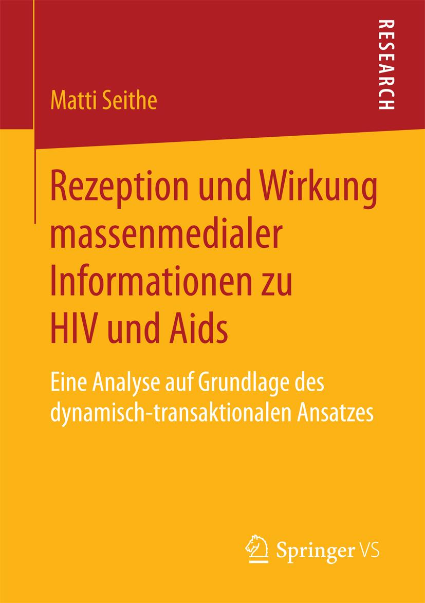 Seithe, Matti - Rezeption und Wirkung massenmedialer Informationen zu HIV und Aids, ebook