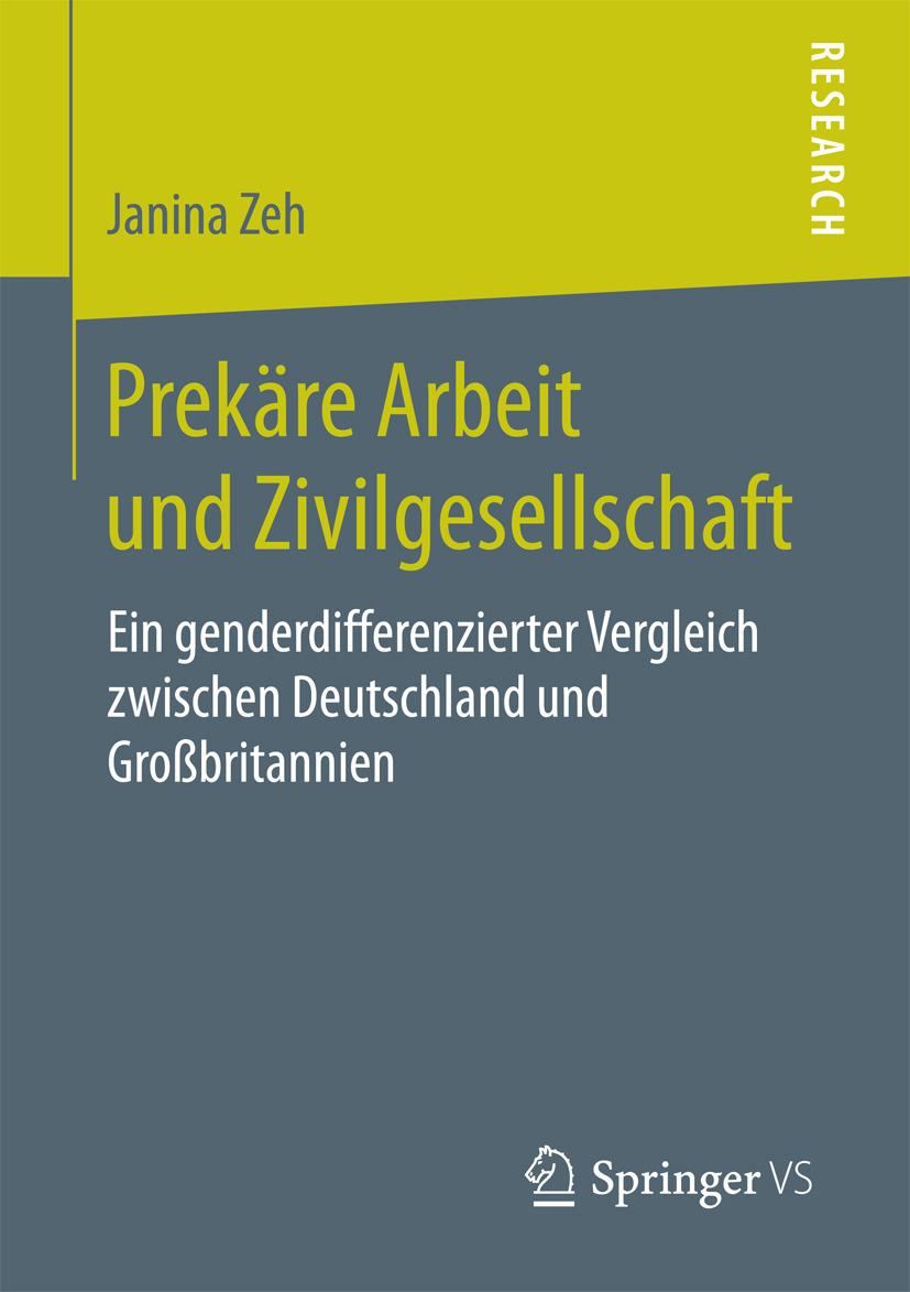 Zeh, Janina - Prekäre Arbeit und Zivilgesellschaft, ebook