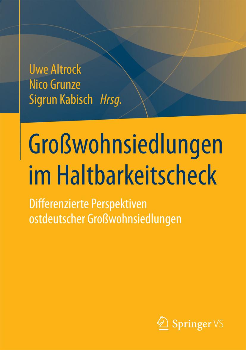 Altrock, Uwe - Großwohnsiedlungen im Haltbarkeitscheck, ebook