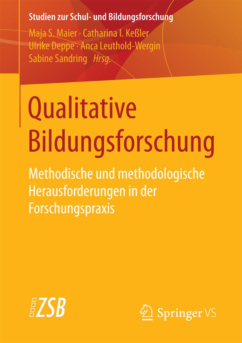 Deppe, Ulrike - Qualitative Bildungsforschung, ebook