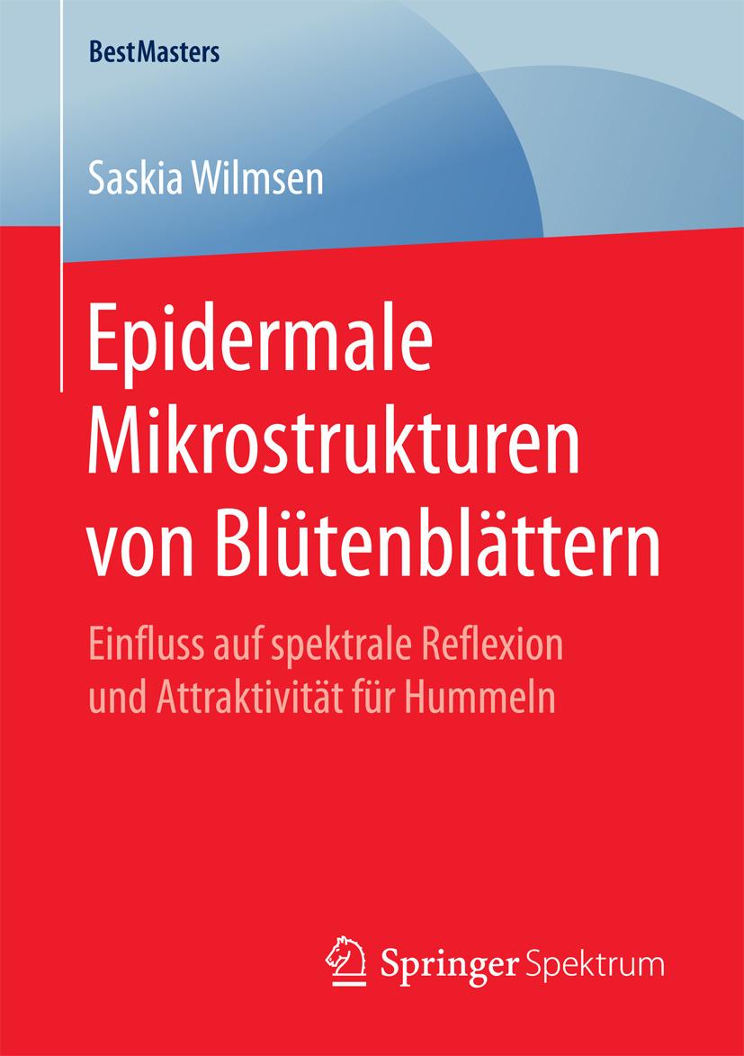 Wilmsen, Saskia - Epidermale Mikrostrukturen von Blütenblättern, ebook