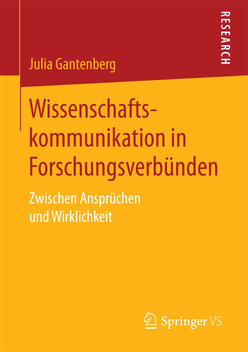 Gantenberg, Julia - Wissenschaftskommunikation in Forschungsverbünden, ebook