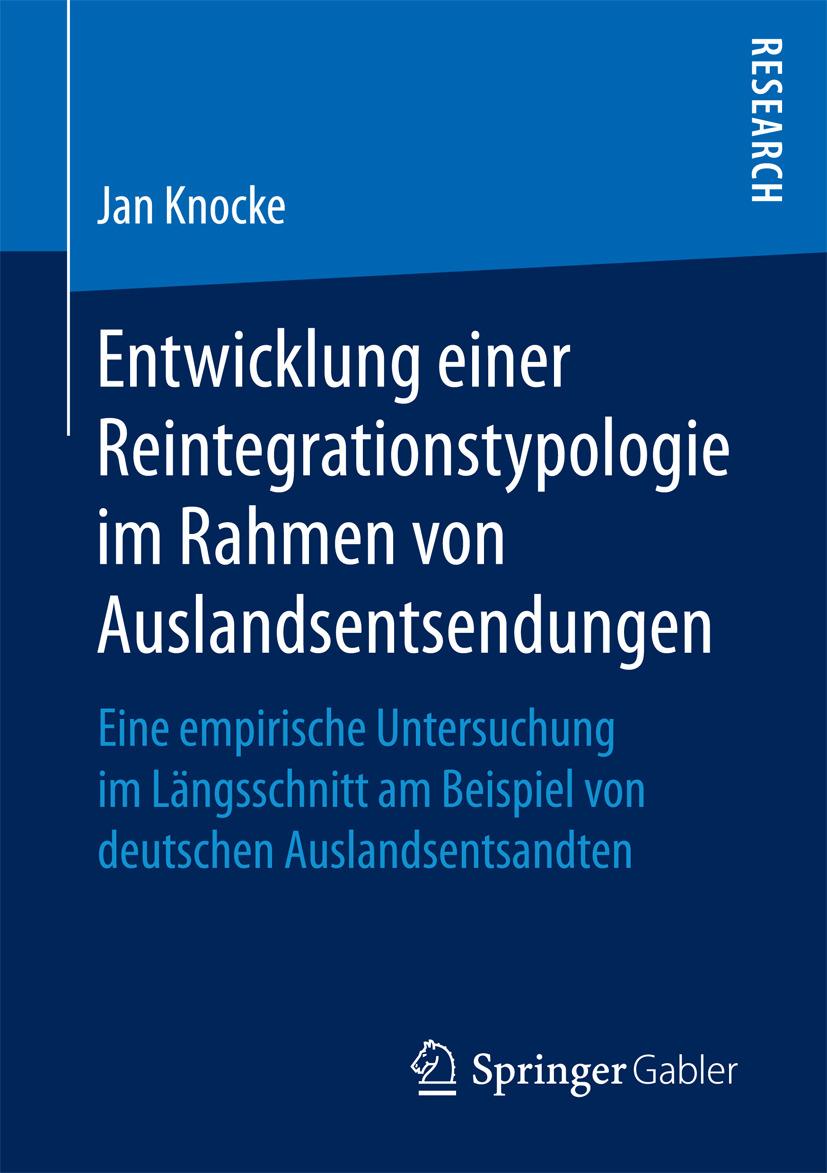 Knocke, Jan - Entwicklung einer Reintegrationstypologie im Rahmen von Auslandsentsendungen, ebook