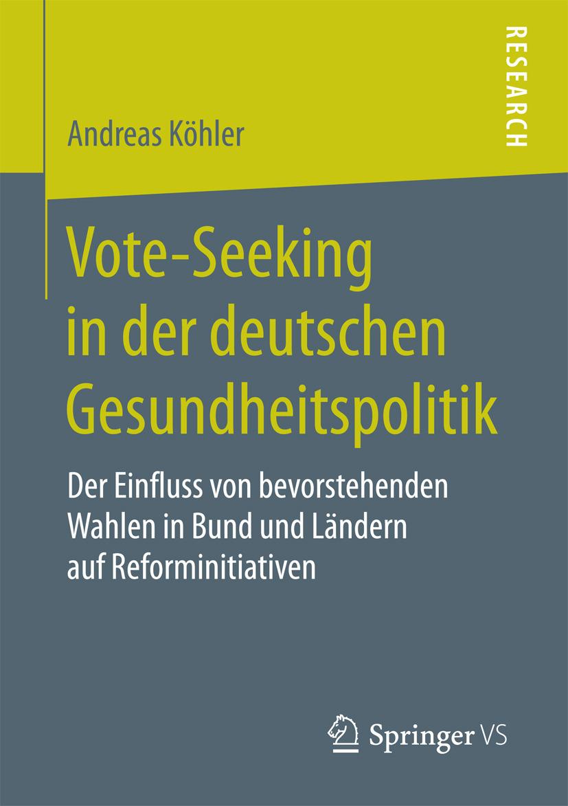 Köhler, Andreas - Vote-Seeking in der deutschen Gesundheitspolitik, ebook