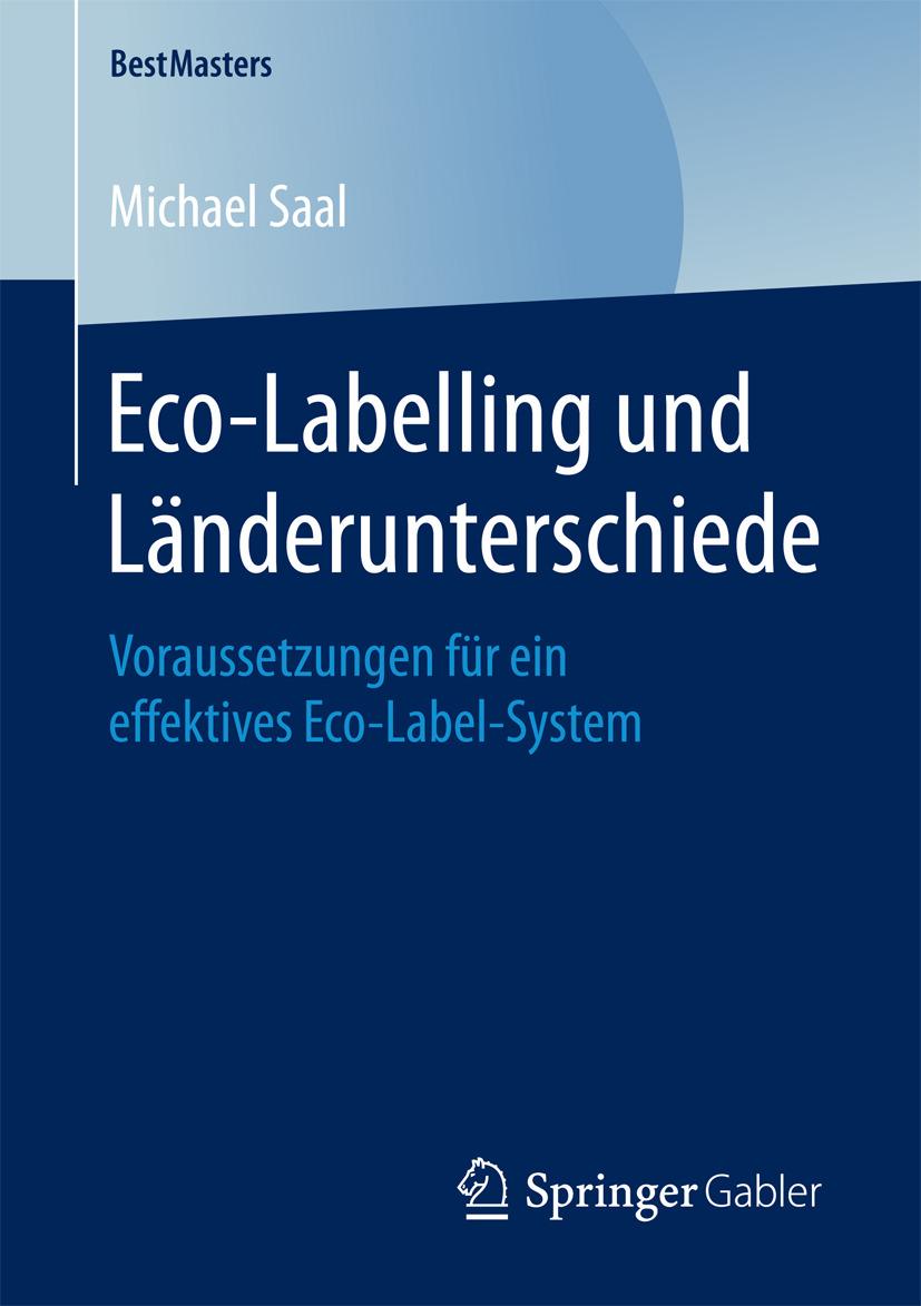 Saal, Michael - Eco-Labelling und Länderunterschiede, e-bok