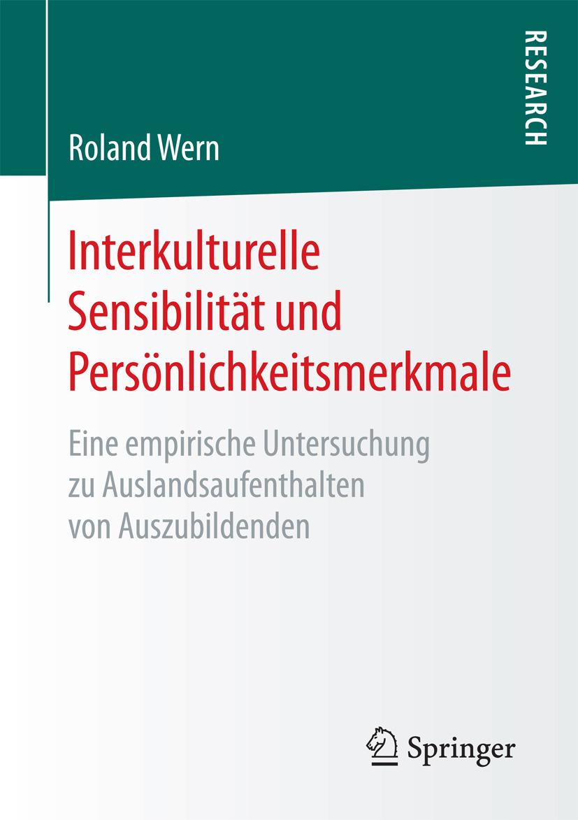 Wern, Roland - Interkulturelle Sensibilität und Persönlichkeitsmerkmale, ebook
