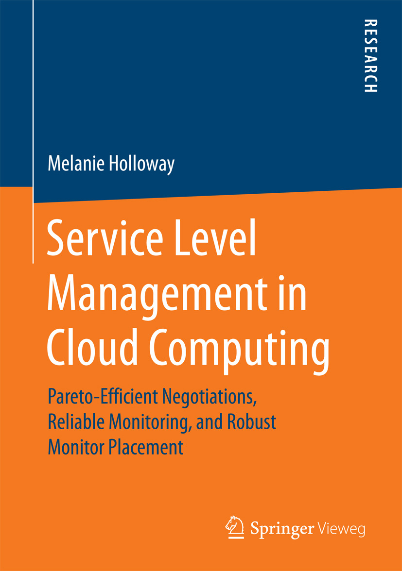 Holloway, Melanie - Service Level Management in Cloud Computing, ebook