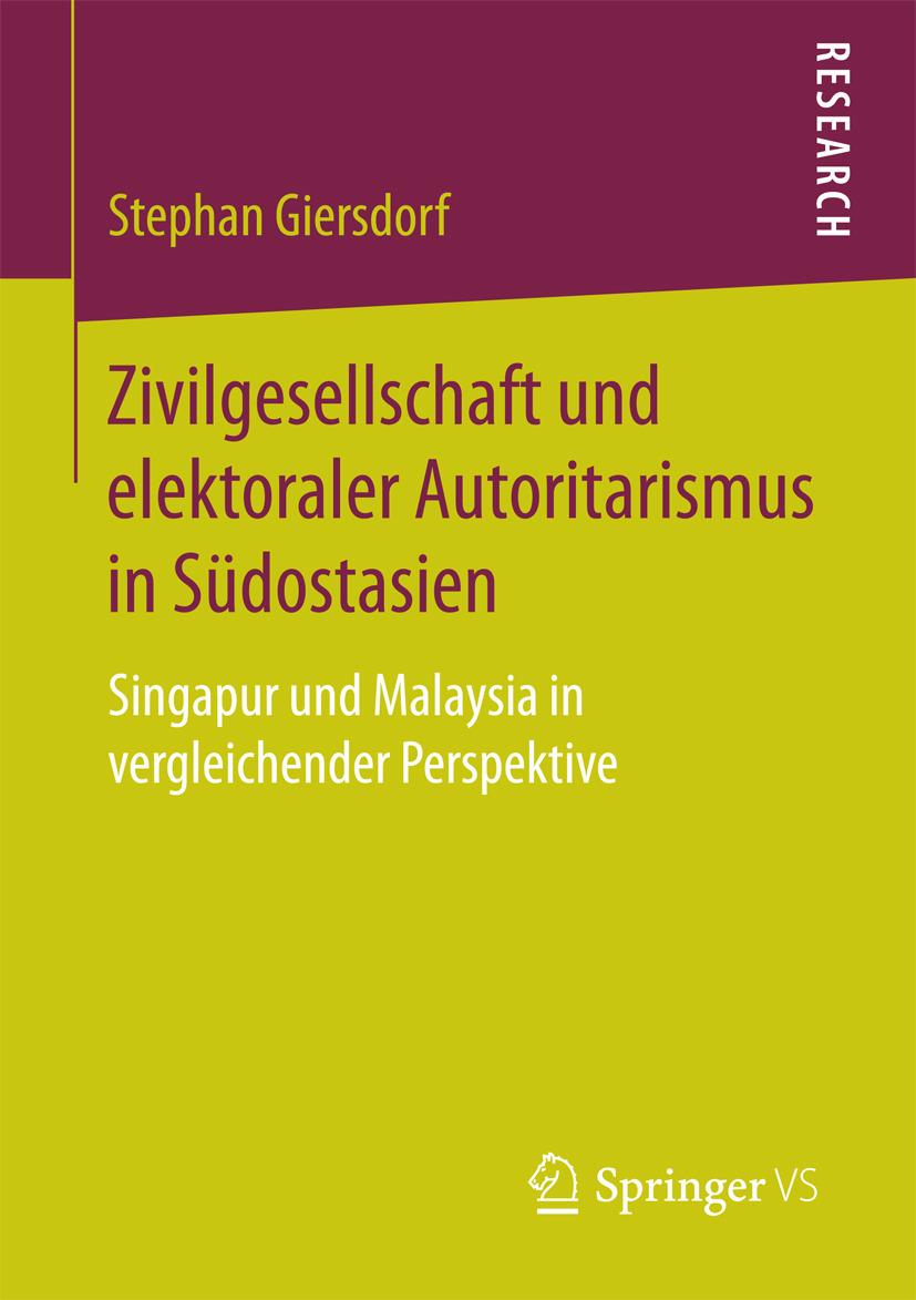 Giersdorf, Stephan - Zivilgesellschaft und elektoraler Autoritarismus in Südostasien, ebook