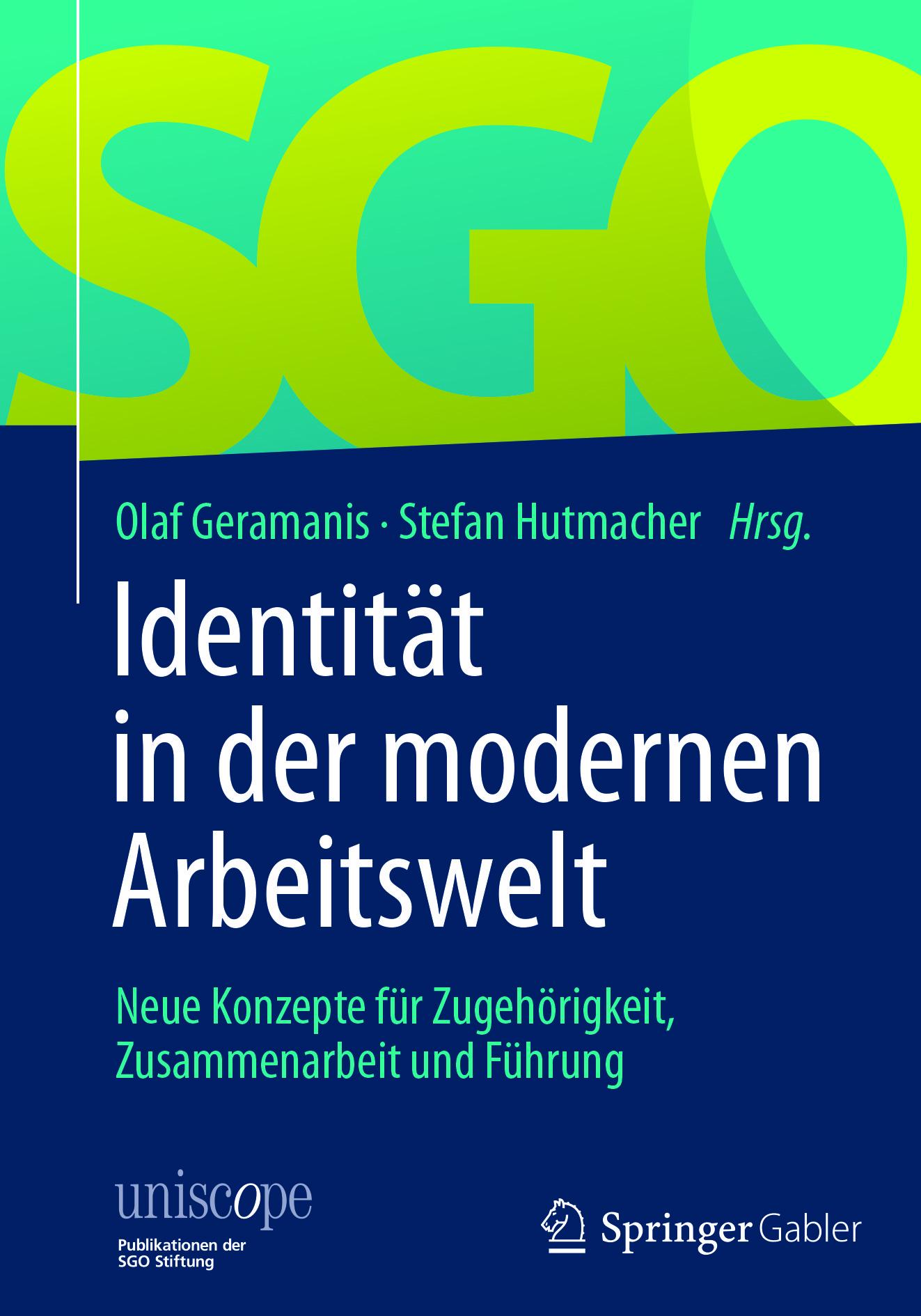 Geramanis, Olaf - Identität in der modernen Arbeitswelt, e-kirja