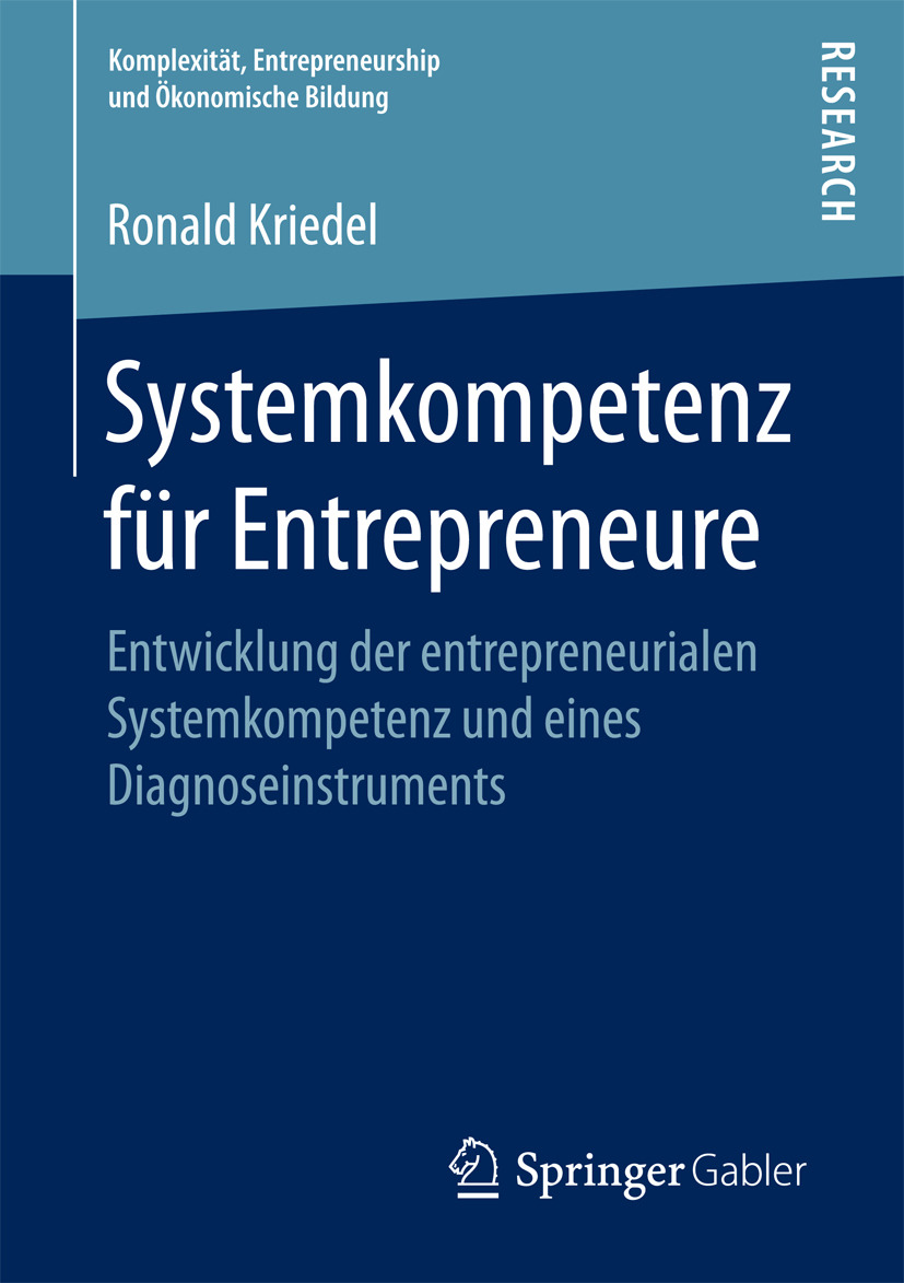 Kriedel, Ronald - Systemkompetenz für Entrepreneure, ebook