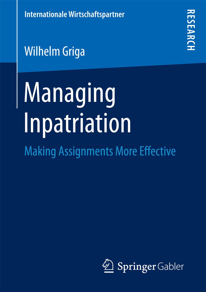 Griga, Wilhelm - Managing Inpatriation, ebook