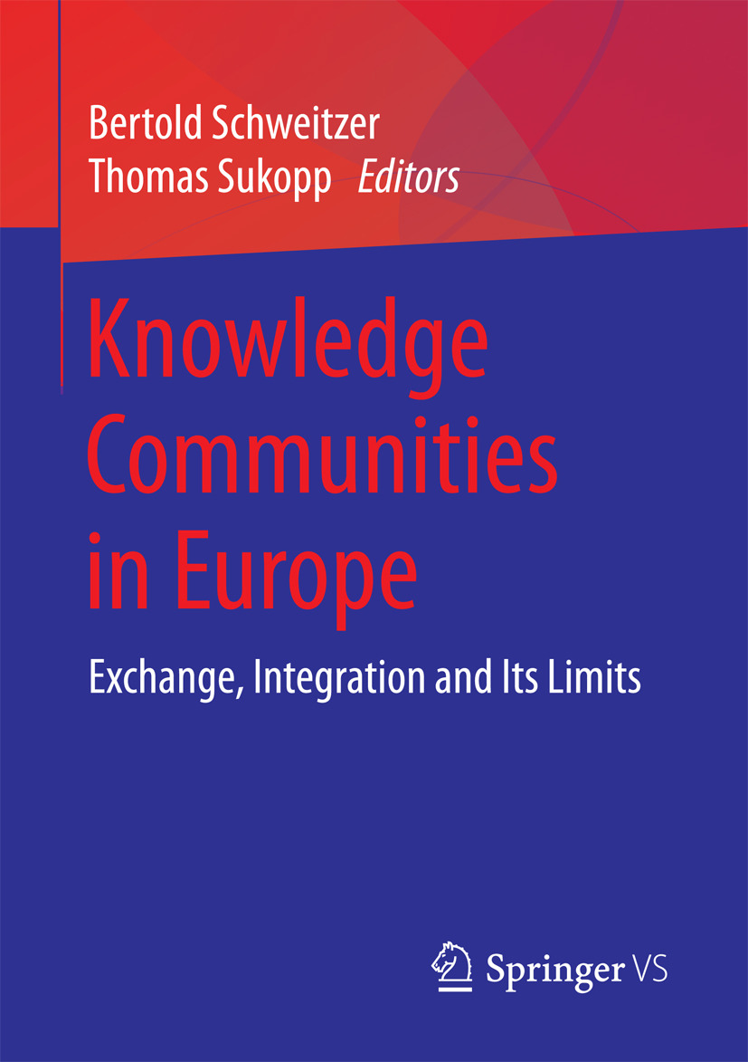 Schweitzer, Bertold - Knowledge Communities in Europe, ebook