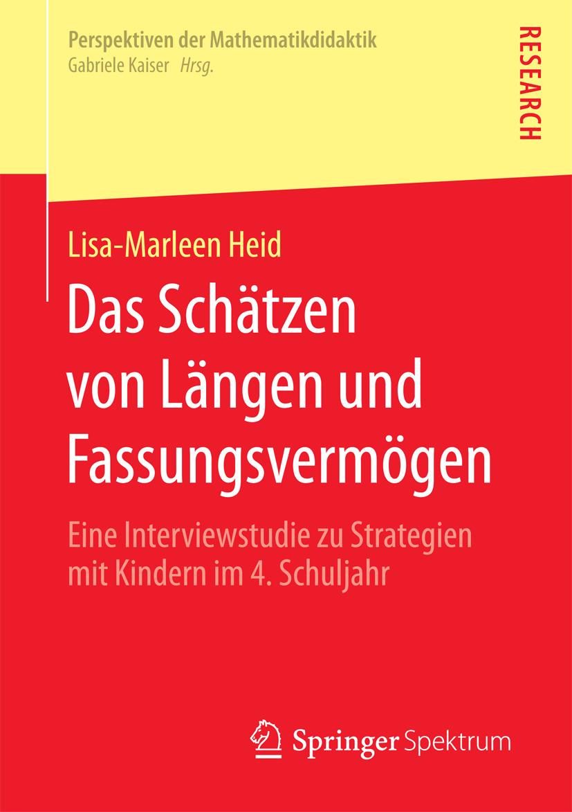 Heid, Lisa-Marleen - Das Schätzen von Längen und Fassungsvermögen, ebook