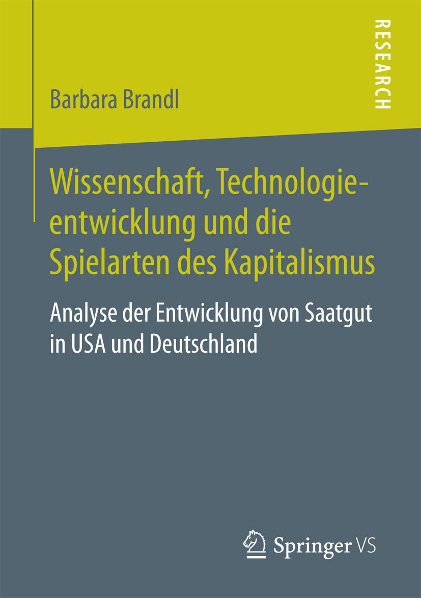 Brandl, Barbara - Wissenschaft, Technologieentwicklung und die Spielarten des Kapitalismus, ebook