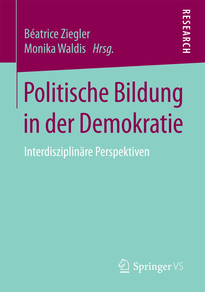 Waldis, Monika - Politische Bildung in der Demokratie, ebook