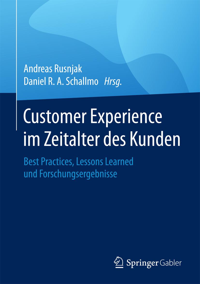 Rusnjak, Andreas - Customer Experience im Zeitalter des Kunden, ebook