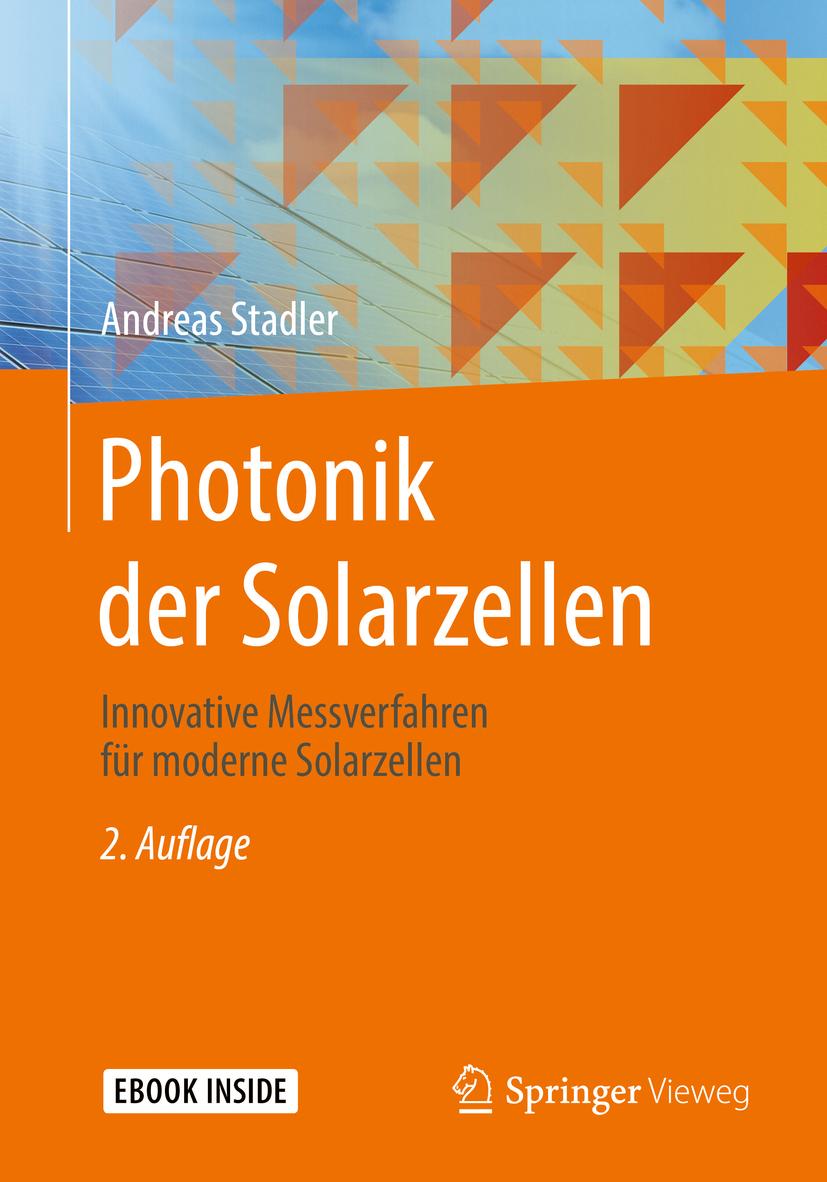 Stadler, Andreas - Photonik der Solarzellen, ebook