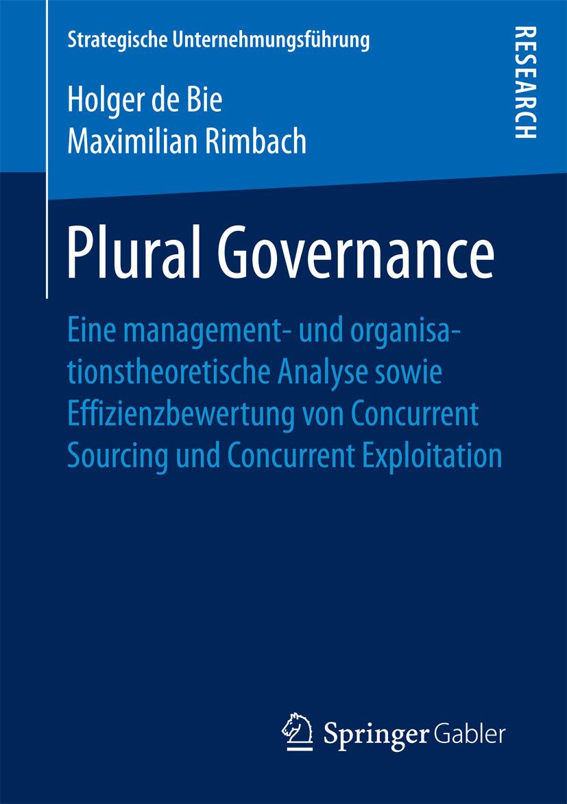 Bie, Holger de - Plural Governance, e-bok