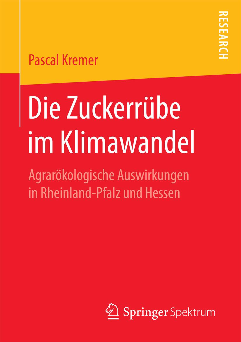 Kremer, Pascal - Die Zuckerrübe im Klimawandel, ebook