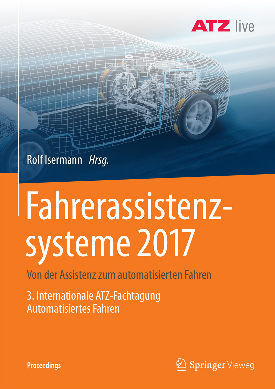 Isermann, Rolf - Fahrerassistenzsysteme 2017, ebook