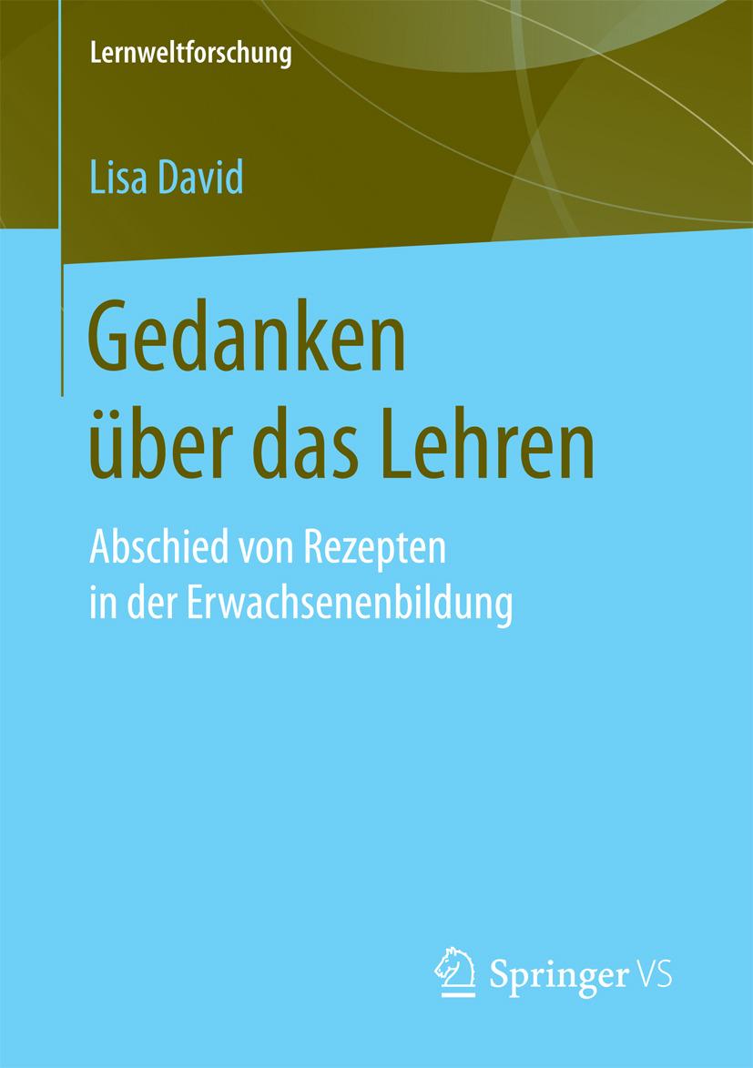 David, Lisa - Gedanken über das Lehren, e-bok