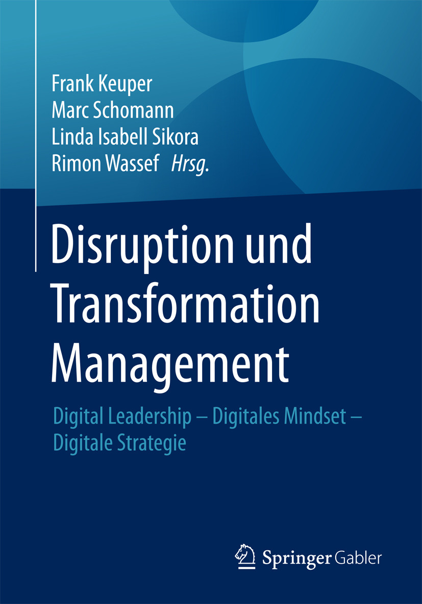 Keuper, Frank - Disruption und Transformation Management, ebook