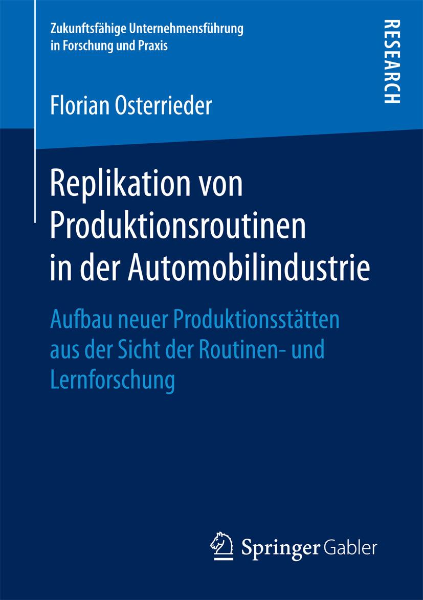 Osterrieder, Florian - Replikation von Produktionsroutinen in der Automobilindustrie, ebook
