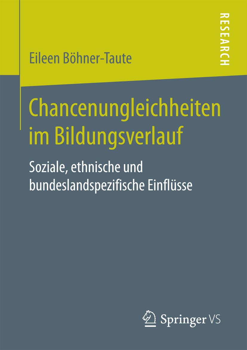 Böhner-Taute, Eileen - Chancenungleichheiten im Bildungsverlauf, ebook