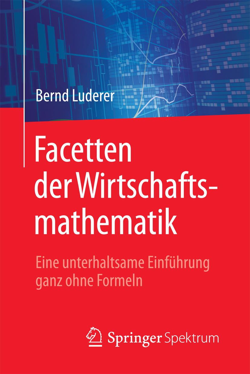 Luderer, Bernd - Facetten der Wirtschaftsmathematik, e-kirja