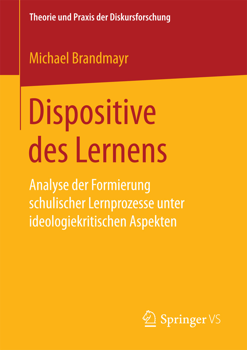 Brandmayr, Michael - Dispositive des Lernens, ebook