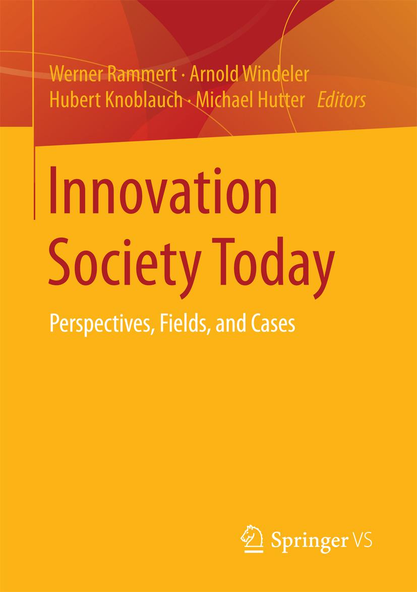 Hutter, Michael - Innovation Society Today, ebook