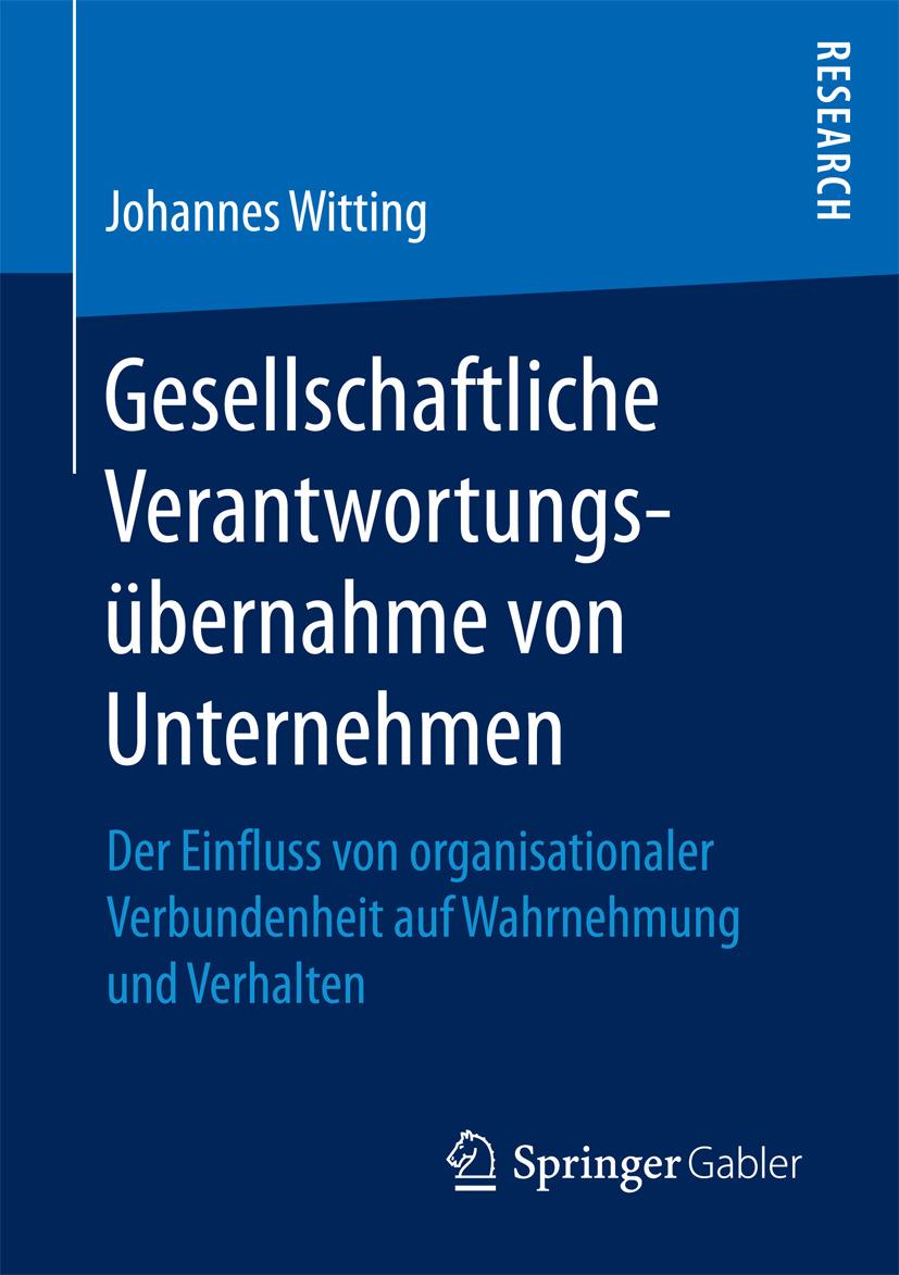 Witting, Johannes - Gesellschaftliche Verantwortungsübernahme von Unternehmen, ebook