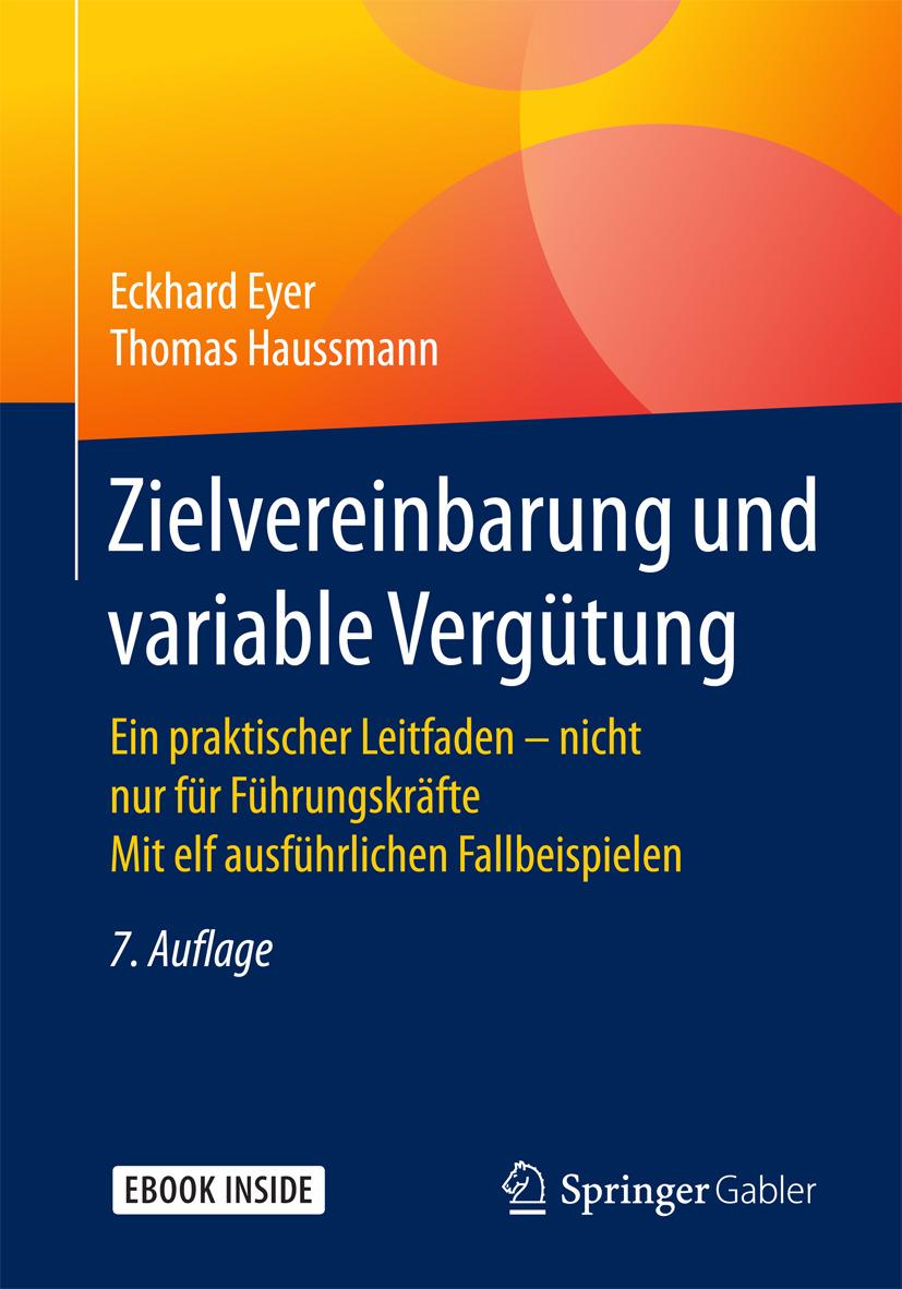 Eyer, Eckhard - Zielvereinbarung und variable Vergütung, ebook