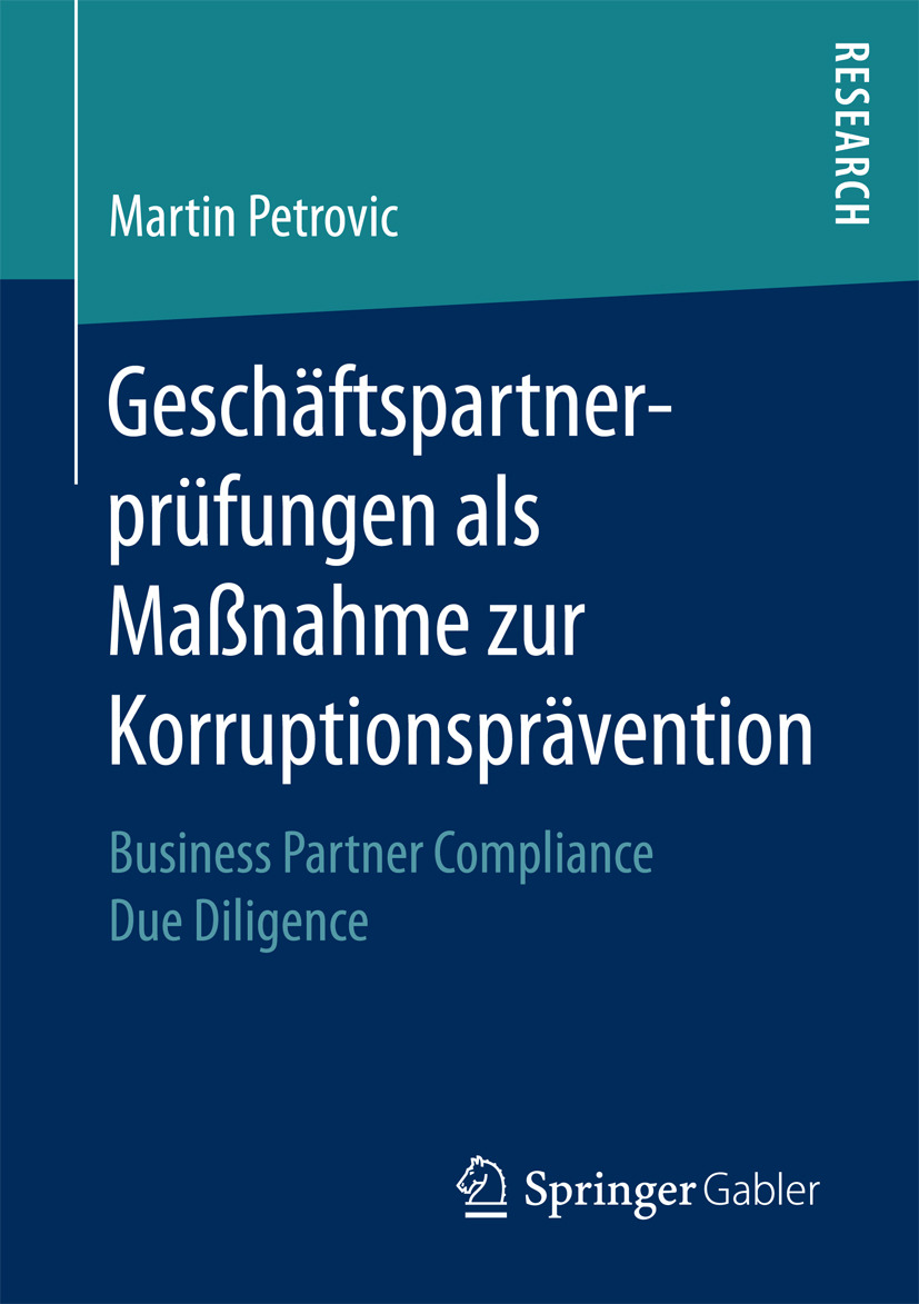 Petrovic, Martin - Geschäftspartnerprüfungen als Maßnahme zur Korruptionsprävention, ebook