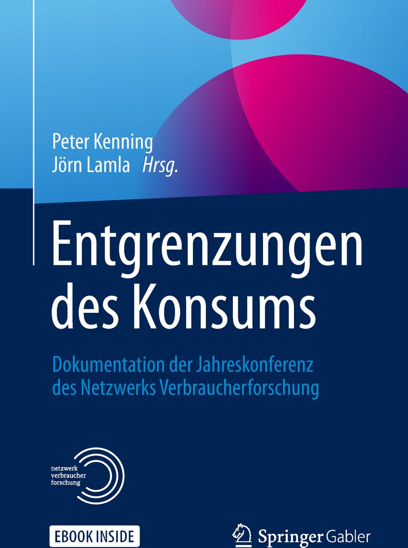 Kenning, Peter - Entgrenzungen des Konsums, ebook