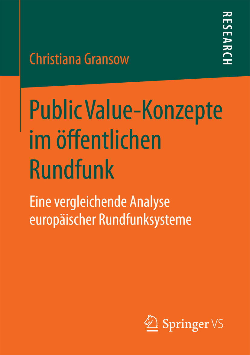Gransow, Christiana - Public Value-Konzepte im öffentlichen Rundfunk, ebook