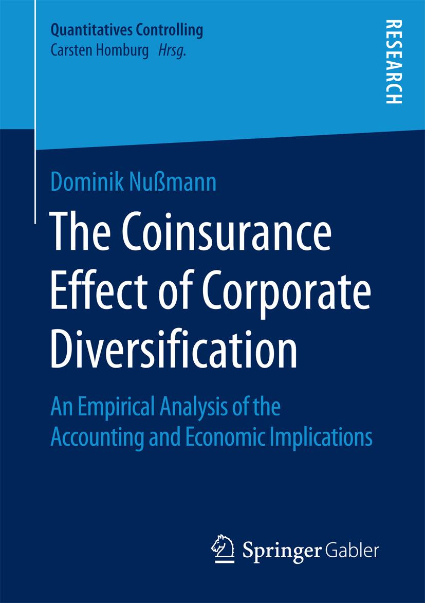 Nußmann, Dominik - The Coinsurance Effect of Corporate Diversification, ebook