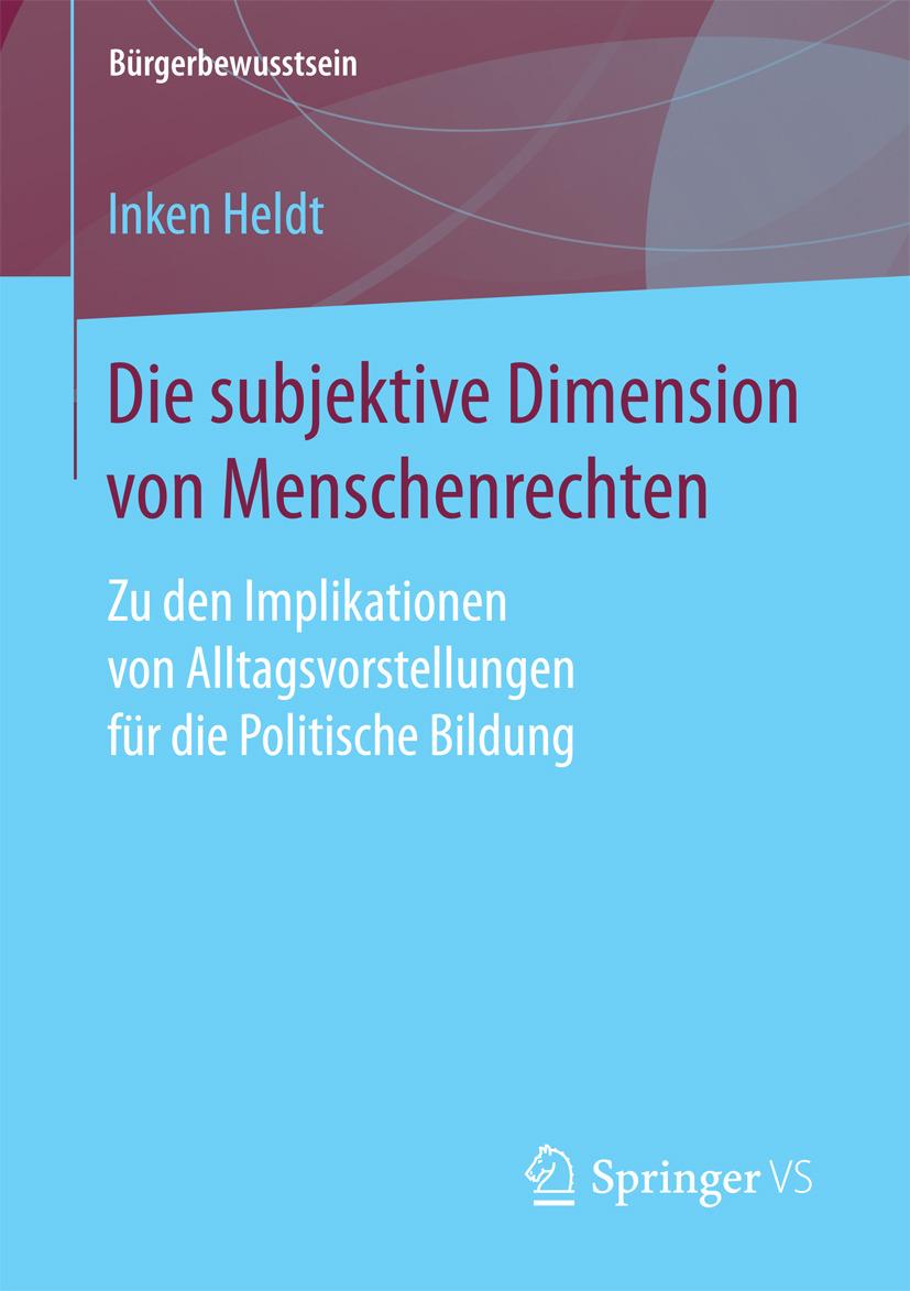 Heldt, Inken - Die subjektive Dimension von Menschenrechten, ebook